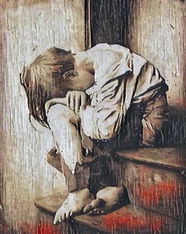 Alexander Pepe Roiz - Tato Oil on Canvas, Paintings