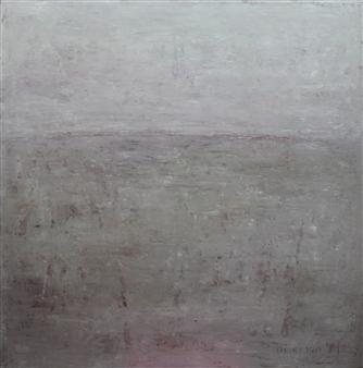Becky Sungja Kim - OPL 1801 Oil on Canvas, Paintings