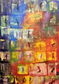 Poonam Verma - Pleasure Acrylic on Canvas, Paintings