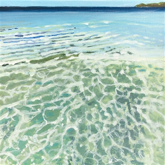 Gabriella Mirabelli - Great Island Shallows Acrylic on Canvas, Paintings