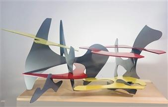 Joanne Syrop - Color Me 1 Steel, Sculpture