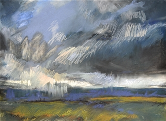 Rebecca Rath - Heart of the Wilderness Soft Pastel on Fabiano Paper, Paintings