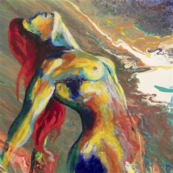 Anna Zubets-Anderson - Inspiration Acrylic, Paintings