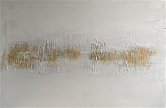 Gia Sabatini - Vibrations I Acrylic & Mixed Media on Canvas, Mixed Media