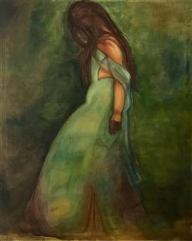 Britt-Marie Tidemand - Lost Acrylic on Canvas, Paintings