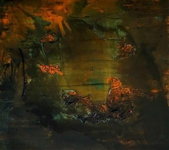 Kim Hinkson - Hidden Beauty Acrylic on Canvas Board, Paintings