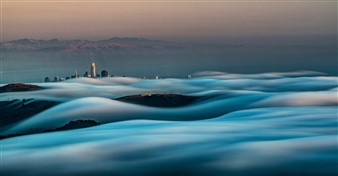 Renzo Sanchez-Silva - Karl the Fog Metal Print, Photography