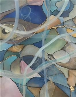 Laura Colantonio - Untitled #2 Oil on Canvas, Paintings