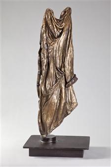 Anita Birkenfeld - Rift Shirt Bronze, Sculpture