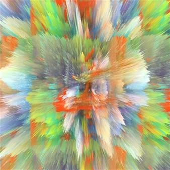 Alex Osborne - Fusion Digital Painting on Aluminum, Digital Art