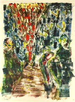 Sato Yamamoto - Pray 1/1 Monoprint, Prints