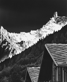 Antonio Biagiotti - Roof and Dente del Gigante Photographic Print on Board, Photography