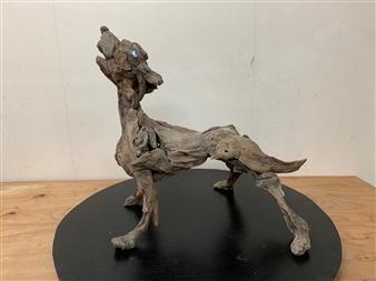 Akemi Fujita - What's That? Wood, Sculpture
