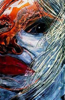 Franck Sastre - Leiza Mixed Media on Canvas, Mixed Media