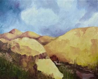 Marc Provisor - Hidden Valley Print on Canvas, Prints