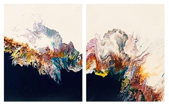 Ashton Lally - New Expectations Acrylic on Canvas, Paintings