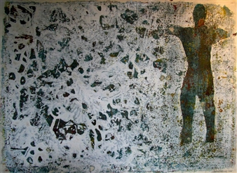 Stefano Sanna - Stagno Acrylic on Paper, Paintings