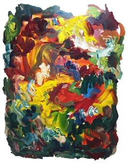 Susan Marx - Dream in Color Acrylic on Canvas, Paintings