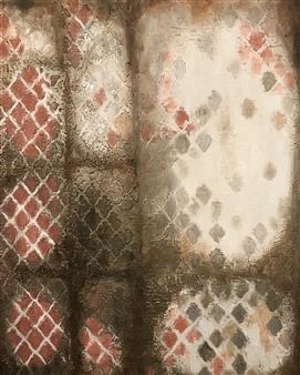 Mona Taqi - Window Acrylic on Canvas, Paintings