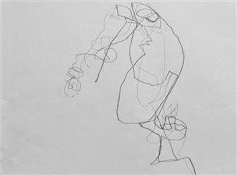 Marek Wasylewicz - VvA-N Pencil on Paper, Drawings