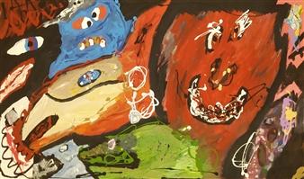 David Morrison - Focus Group Acrylic on Canvas, Paintings