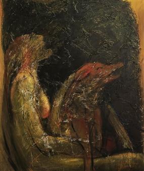 Jian Jun An - Chorus Acrylic on Canvas, Paintings