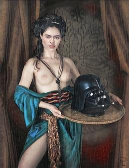 Alexander Pepe Roiz - Herod Vader Oil on Canvas, Paintings