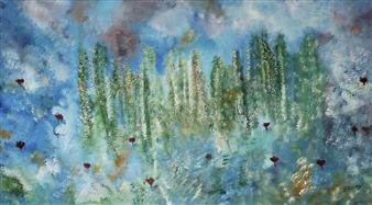 Joe Koury - Infinite Imagination Acrylic on Canvas, Paintings