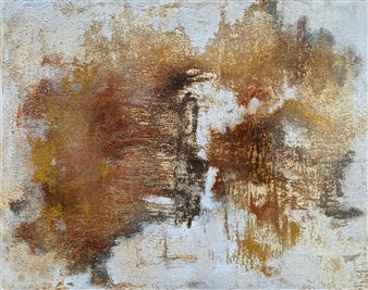 Alissa Van Atta - Haywire Acrylic & Mixed Media on Canvas, Paintings