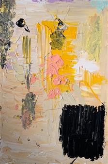 Tyler Santangelo - Section Acrylic on Canvas, Paintings