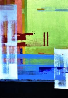 Abenamar Bauta Delgado - Sin Título1 Acrylic on Canvas, Paintings