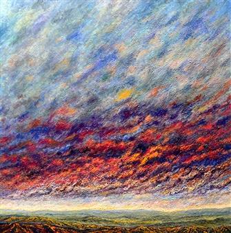 Leonardo LEMORÉ - Canto De Los Andes Oil on Canvas, Paintings