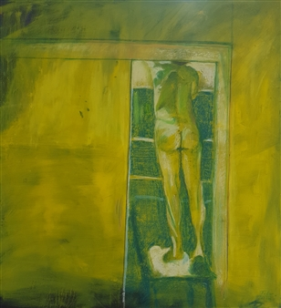 Anna Weichert - The Man in the Closet 4 Oil on Canvas, Paintings