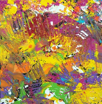 Richard RAN - Multiplicity Acrylic on Canvas, Paintings