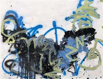 Marek Wasylewicz - Thur 2 Acrylic & Oil on Canvas, Paintings