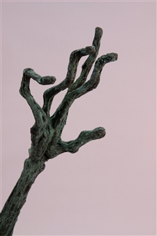 Emil Silberman - Hand Bronze, Sculpture