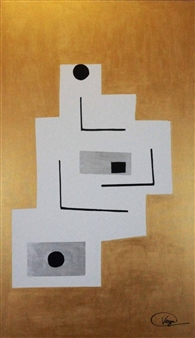 Vega Aramburu - Showing the Universe Acrylic on Canvas, Paintings