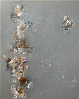 Alissa Van Atta - Steel Resolve Acrylic & Mixed Media on Canvas, Mixed Media