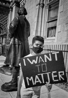 Ada Luisa Trillo - I Want to Matter Archival Pigment Print, Photography