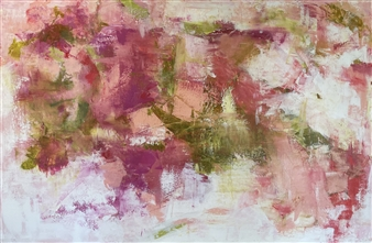 Kate Robinson - Fresh and Floral Acrylic on Canvas, Paintings
