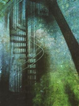 Evan William Plunkett - Stair #8 Archival Pigment Print, Photography