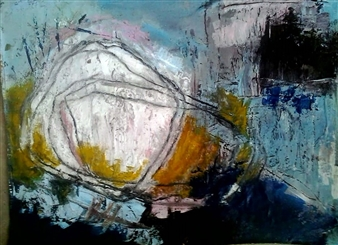 Luisa Vicente Isola - Sin Titulo XL Acrylic on Canvas, Paintings