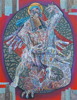 Alexander Ossipov (TOTUR) - The Georgiy Oil on Canvas, Paintings