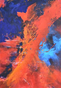 Ingrid Strecker - Sound of Music 1 Acrylic on Canvas, Paintings