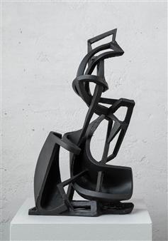 Attila Mata - Flags Sintered Aluminum, Sculpture