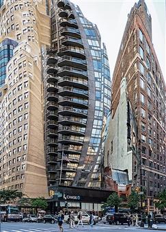 Shifra Levyathan - Future Cityscape 08 Digital C-Print