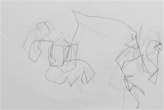 Marek Wasylewicz - VvA-H Pencil on Paper, Drawings