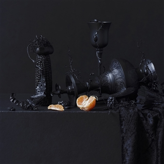 Art Golacki - Still Life in Black with Orange / second variation Archival Pigment Print, Photography