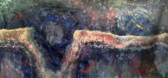 Luisa Vicente Isola - Cruz Acrylic on Canvas, Paintings