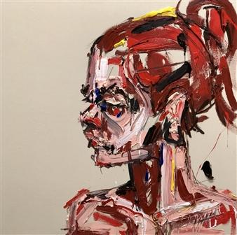 Nick Bautista - The Past Tastes Like Scrambled Eggs Acrylic on Canvas, Paintings
